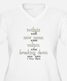 All Twilight Dates I Was There T-Shirt