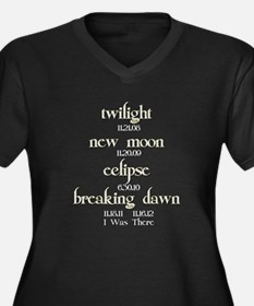 All Twilight Dates I Was There Women's Plus Size V