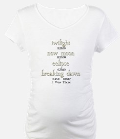 All Twilight Dates I Was There Shirt