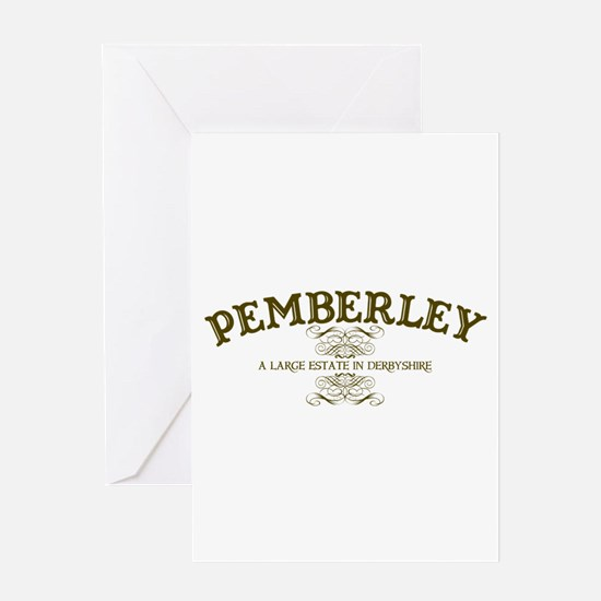 Pemberley A Large Estate In Derbyshire Greeting Ca