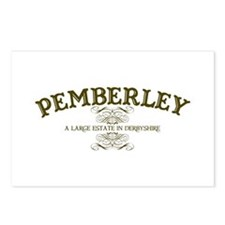 Pemberley A Large Estate In Derbyshire Postcards (