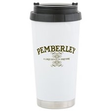 Pemberley A Large Estate In Derbyshire Travel Mug