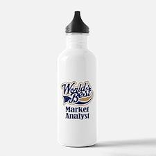 Market Analyst (Worlds Best) Water Bottle