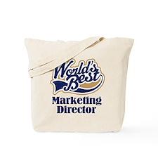 Marketing Director (Worlds Best) Tote Bag