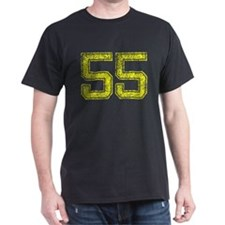 55, Yellow, Vintage T-Shirt