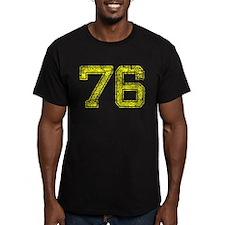76, Yellow, Vintage T