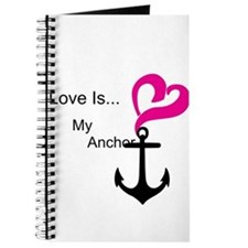Love Is My Anchor Journal