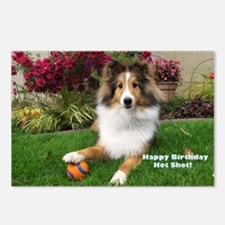 Happy Birthday Hot Shot Postcards (Package of 8)