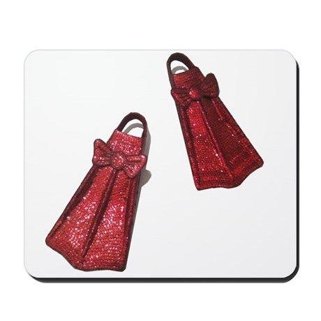 The Ruby Flippers Mousepad