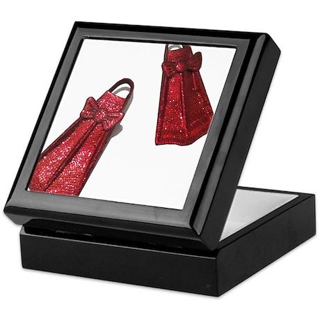 The Ruby Flippers Keepsake Box
