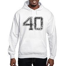 40, Vintage Hoodie