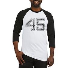45, Vintage Baseball Jersey