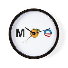 MPeach Obama Wall Clock