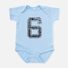6, Vintage Infant Bodysuit