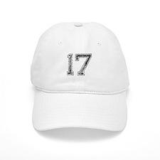 17, Vintage Baseball Cap