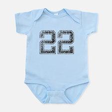 22, Vintage Infant Bodysuit