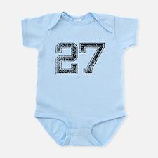 27, Vintage Infant Bodysuit