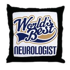 Neurologist (Worlds Best) Throw Pillow