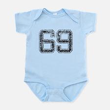 69, Vintage Infant Bodysuit