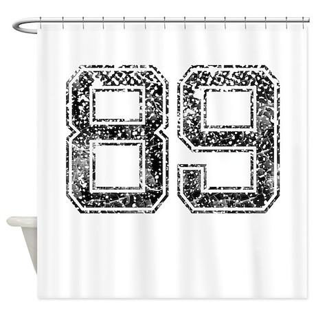 89, Vintage Shower Curtain