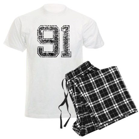 91, Vintage Men's Light Pajamas