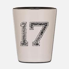 17, Vintage Shot Glass