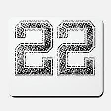 22, Vintage Mousepad