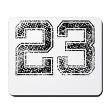 23, Vintage Mousepad