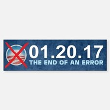 The End of an Error Bumper Bumper Sticker