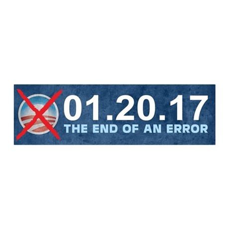 The End of an Error 20x6 Wall Decal