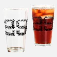 29, Vintage Drinking Glass