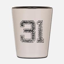 31, Vintage Shot Glass