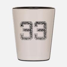 33, Vintage Shot Glass