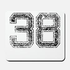 38, Vintage Mousepad