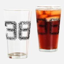 38, Vintage Drinking Glass
