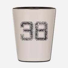 38, Vintage Shot Glass