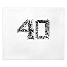 40, Vintage King Duvet