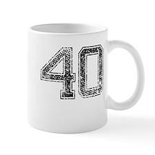 40, Vintage Mug