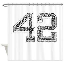 42, Vintage Shower Curtain