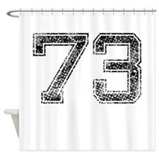 73, Vintage Shower Curtain