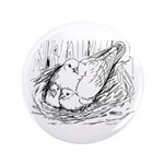"""Nesting Pigeon 3.5"""" Button (100 pack)"""