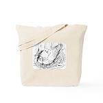 Nesting Pigeon Tote Bag