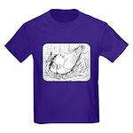 Nesting Pigeon Kids Dark T-Shirt