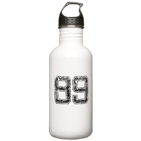 89, Vintage Stainless Water Bottle 1.0L