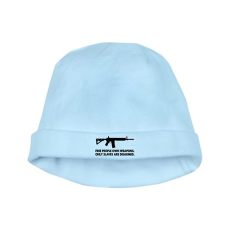 Free people own guns! baby hat