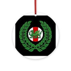 Midrealm Laurel balck medallion
