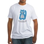 Mean Kitty Fitted T-Shirt