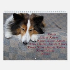 Kisses Wall Calendar