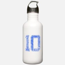 10, Blue, Vintage Water Bottle