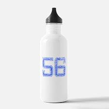 56, Blue, Vintage Water Bottle